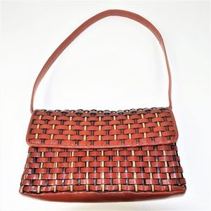 Nine West Weaved Shoulder Bag Purse